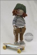 CAROcreated Design - Carola Herbst - Doll  Sverre - Spanish