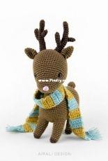 Noel the Amigurumi Reindeer by airali