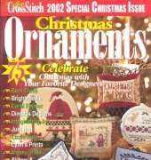 Just Cross Stitch JCS Christmas Ornaments 2002
