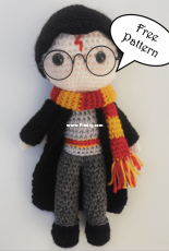 Daisy and Storm - Free Harry Potter Amigurumi Pattern - Free