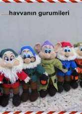 AmigurumiTR Design Team - Havva - Snow White and the Seven Dwarfs - Spanish