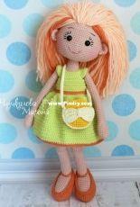 Marina Chuchkalova - My Crochet Wonders - Mirra the doll