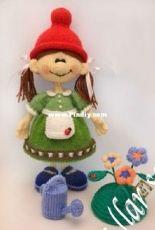 larisa1122 - Larisa Kostyleva - jasminetoys - Gnome girl - Gnomochka- Russian