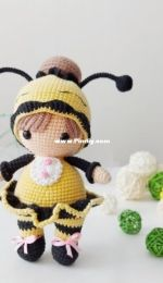 Lubava Crochet Pattern - Lyubov Kholkina - honey bee