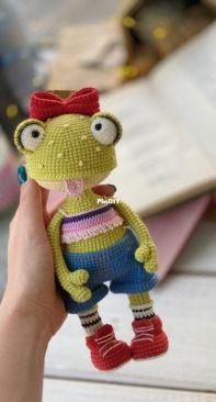 Funny Hook - Svetlana Maksimenko - Klava the frog - Russian