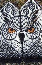forest owl mittens natalia moreva