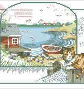 Permin 12-2305 Tabby Cat Scene