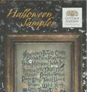 Cottage Garden Samplings - Halloween Sampler
