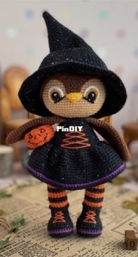 Sovushkin mir toys - Elena Ashlapova - Owl the Witch