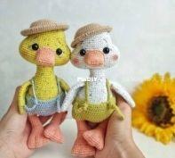 Ka.malinka Toys - Elizabeth Kamalina - the little Duck and Goose