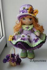 Olga Arhipova-Violet Doll-Russian