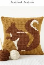 Little Doolally - Amy - Squirrel Cushion