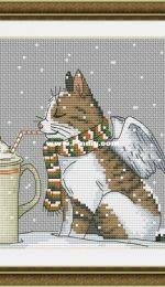 Cappuccino Cat by Nadezhda Gavrilenkova / Капучино Кот/