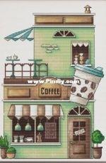 Coffee House by Anastasia Eremina
