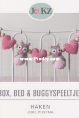 Jookz creaties - Joke Postma - Box bed and buggy toys crochet - Dutch