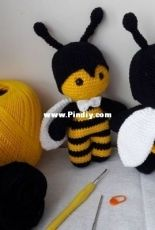 Cinthia Farias - Little Bee couple - Mr. and Mrs. Bee - Portuguese