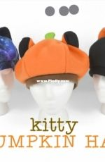 Choly Knight - Sew Desu Ne? - Kitty Pumpkin Hat - Free