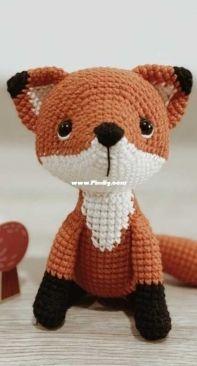 Little fish crocheterie - Trang Nguyen - Apricot the little fox