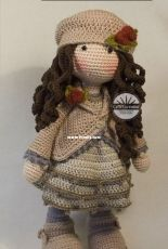 CAROcreated Design - Carola Herbst - Doll Ava - Spanish