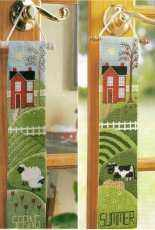 Seasonal Door Hangers from Cross Stitch & Needlework, 2008