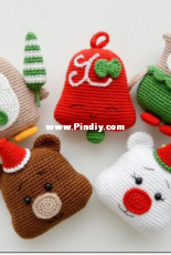 Rnata - Natalia Ruzanova - Christmas decorations Set 2