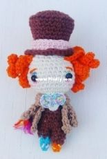 Príncipe del crochet - The Mad Hatter - Spanish
