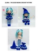 Crochet Garage -Glinda The Good Wizard crochet pattern - Russian - Translated