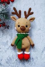 Crochet Friends Lab - Tatyana/Tatiana Kostochenkova - Little Deer Crosh