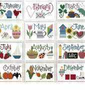 Lizzie Kate F01-F012 Flip It Calendar .pat
