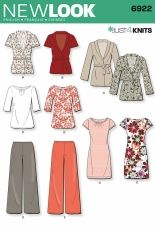 New Look 6922 women multisize sewing pattern