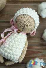 Little owlet - Marina Kolmykova - Lamb crochet pattern