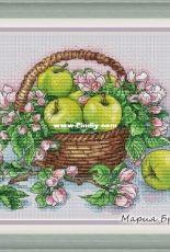 Maria Brovko - Apples in a Basket