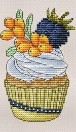 Mini Cupcake №77 by Alexandra E. / Alexandra Gurovskikh