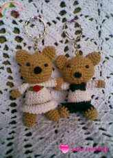 Zan Crochet - Zan Merry - Small Bear Couple - Free