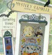 SamSarah 9120 Mystery Sampler Part III  Something Wicked