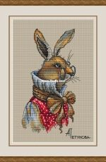 Brother hare by Anna Petunova