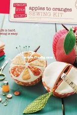 Straight Stitch Society - Apples To Oranges Sewing Kit Sewing Pattern