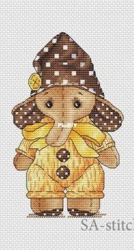 SA-Stitch - Svetlana Sichkar - Elephant