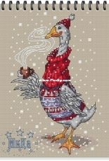 Animals in Sweaters - Goose by Ekaterina Gafenko and Mila Vozhd