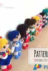 53stitches- Clare Heesh - Sailor Moon Collection