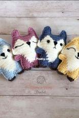 Spin a Yarn Crochet - Jillian Hewitt - Pocket Fox Free Crochet Pattern - Free