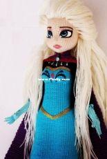 MiniaGurumi - Gokcen - Xena doll - Princess Elsa