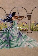 Mirabilia MD165 - Garden Prelude by Nora Corbett