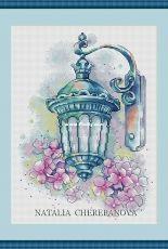 Natalia Cherepanova - Turquoise lantern