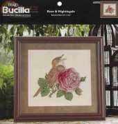 Bucilla 43592 - Rose & Nightingale