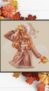 Paradise Stitch - Autumn Kiss by Olga Lankevich
