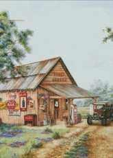 HAE HAEKLS 1283 Mikes Garage by Kay Lamb Shannon