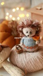 Jetkat - Knit ZOO - Hedgehog
