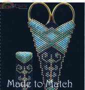 beaded cases for scissor and needles _Made to Match
