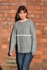Choucas Sweater by Pauline Walter-English,French-Free